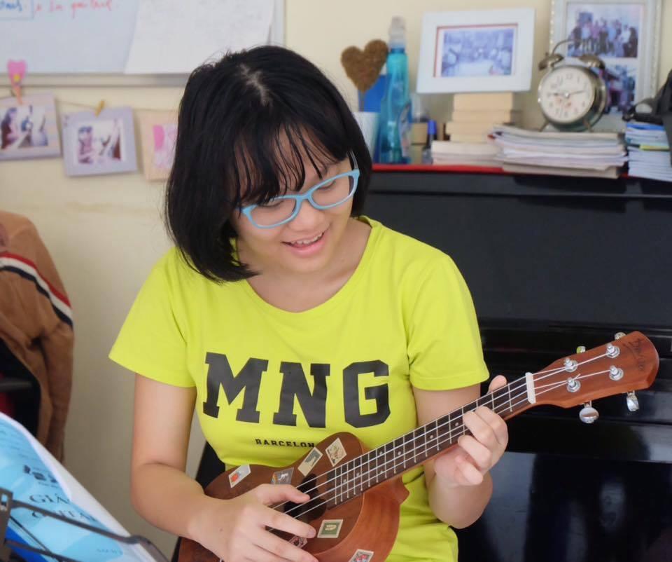 Khóa học Ukulele tại Sao La Music